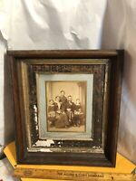 "Vintage Antique Victorian Shadowbox Picture Frame Fits 8"" by 10"" Painting"