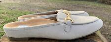 Vionic Womens Snug Adeline Leather Comfort Mule Slide-Size 7