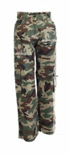 Markenlose Cargo -/Militär-Hosen für Mädchen