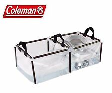 Coleman Folding Double Wash Basin Portable Dish Sink PVC Kitchen Camping Outdoor