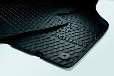 Satz VW Tiguan Allwettermatten Gummimatten original Volkswagen Gummi-Fußmatten