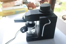Melitta Model MEX1B Espresso Cappuccino Maker Machine 4 Cup Black