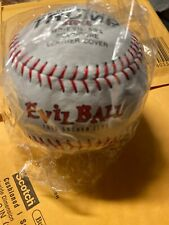 Evil Ball Softball Asa White With Red Thread New