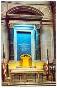 POSTCARD DECLARATION OF INDEPENDENCE, NATIONAL ARCHIVES BUILDING WASHINGTON D.C.