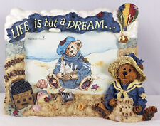 Boyds Bearstone Frame, Wilson–Life Is But A Dream (Shaboom Shaboom), #27350, New