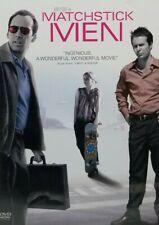 Matchstick Men Dvd movie Widescreen Nicolas Cage (L46)