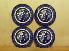 SET OF 4 COASTERS - 95MM MDF - WILLOW PATTERN