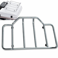 Chromed Tour Pak Pack Luggage Rack For Harley Touring Road King Street Glide AP9