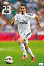 Real Madrid Game Night ISCO Official La Liga Spanish Import Soccer POSTER