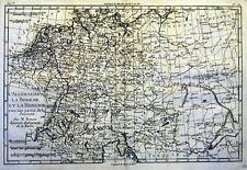 Antique map, L'Allemagne La Boheme et La Hongrie ... partie de la Pologne
