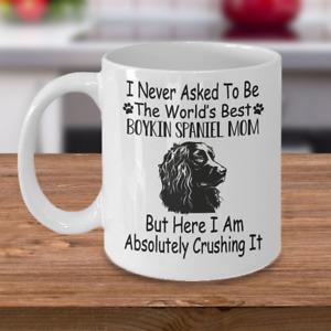 Boykin Spaniel dog,Boykin,Swamp Poodle,LBD,Little Brown Dog,Cups,Dog,Coffee Mug