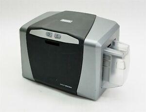HID Fargo DTC1000 Color USB Thermal Transfer ID Card Badge Printer X001800-1