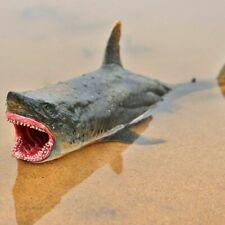 Megalodon Figur Alter Hai Wildtier Modell Sammler Kinder Geschenke Spielzeug