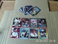 Lot of 113 different racing cards - Earnhardt, Gordon, Martin. All pictured