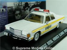 BLUES BROTHERS CAR MODEL 1:43 ILLINOIS STATE POLICE GREENLIGHT DODGE ROYAL R01