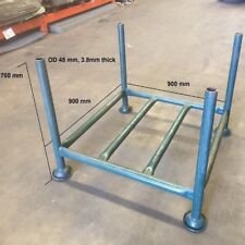 Heavy Duty Green Steel Collapsible Stillage - Green Powdercoat - Stack up to 8