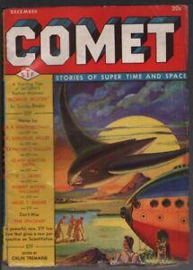 Comet 1940 December, #1.      Pulp