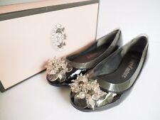 "Size 9 ""Juicy Couture"" Gorgeous Ladies Black Flats. Great Condition! Bargain!"
