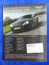 Aston Martin V8 Vantage - Werbeanzeige Reklame Advertisement 2013 __ (178