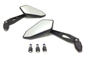 Lenker Spiegel Satz links rechts M8 E-Geprüft für Yamaha Aerox, MBK Nitro