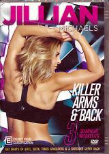 Jillian Michaels Killer Arms & Back - DVD -