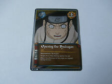Carte Naruto Opening the Byakugan foil !!!