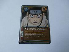 Carte Naruto Opening the Byakugan foil !!!