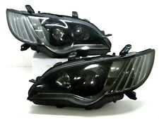 2006-09 Subaru JDM Legacy liberty BL9 BP9 Facelift HID BLACK Headlight Lamp BPE
