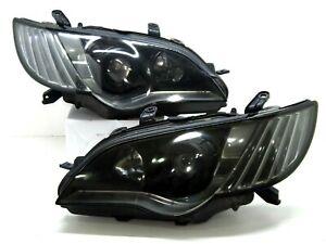 2006-09 Subaru JDM Legacy liberty BL9 BP9 Facelift HID BLACK Headlight Lamp BPE