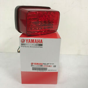 TAILLIGHT ASSEMBLY W/BULB FOR 02-08 YAMAHA GRIZZLY 660 5KM847100100