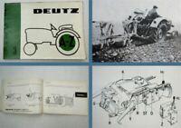 Deutz A-Z 3 Schlepper mit Deutz Transfermatic System