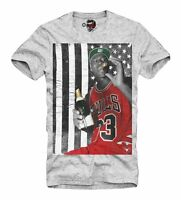 E1SYNDICATE MENS T-SHIRT JORDAN US DREAM TEAM BASKETBALL CIGAR USA 1846g
