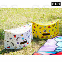 BTS BT21 Official Authentic Goods Folding Picnic Chair By Kumhong Fancy