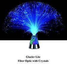 Westminster Fiber Optic Glacier Lite Mullticolor Light w/Color Crystals NEW