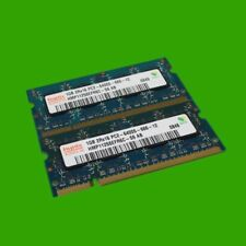 Hynix HMP112S6EFR6C-S6 AB S0 Speicher 2 GB (2x 1 GB) DDR2  PC2-2 6400S Notebook