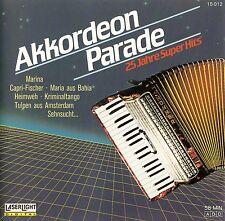 AKKORDEON PARADE - 25 JAHRE SUPER HITS / CD - TOP-ZUSTAND