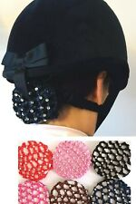 Hair Bun Net, Horse Showing- Crystal, Choice of colours - Dance Dressage Pony