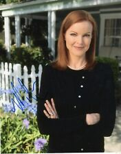 """Desperate Housewives"" Marcia Cross Autographed 8X10-COA"