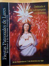 Cinco 5 Anuarios Diferentes de Fiestas Patronales de Lares Puerto Rico