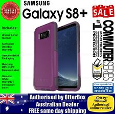 Samsung Galaxy S8+ Genuine Otterbox Otter Commuter Tough Slim Case Cover Purple