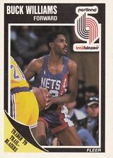 1989-90 Fleer #132 Buck Williams Portland Trail Blazers