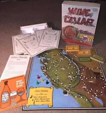 Very Good Condition 45 Yr Old 1971 WINE CELLAR BOARD GAME FUN ! Dynamic Design