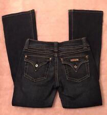 Hudson Jeans Womens Misses Size 30 Low Flare Stretch Denim