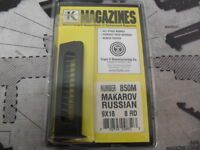 Triple K Mag for Russian Makarov 9x18  850M 8 RD Made in USA!