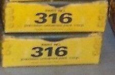 PRECISION Universal Joint #316; fits VARIOUS 1966-99 CHRYSLER MOTORS; (MoPar)
