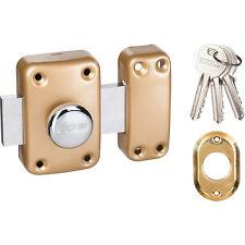 Verrou de sûreté à bouton EXEM - Longueur Cylindre 40 mm