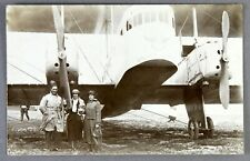 FARMAN GOLIATH F.60 VINTAGE REAL PHOTO POSTCARD RPPC CARTE POSTAL 1