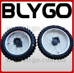 SV 15mm 14 Inch Front 12 inch Rear Back Wheel Rim Tyre Tire PIT Trail Dirt Bike
