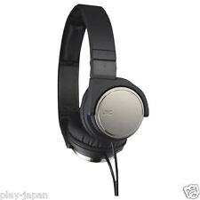 JVC Victor HA-S500 Gun metall Carbon Nanotube Headphones Japan New Official