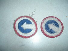 MILITARY PATCH COLORED 1ST COSCOM CORPS SUPPORT COMMAND  WW2 ERA NEW OLD STOCK